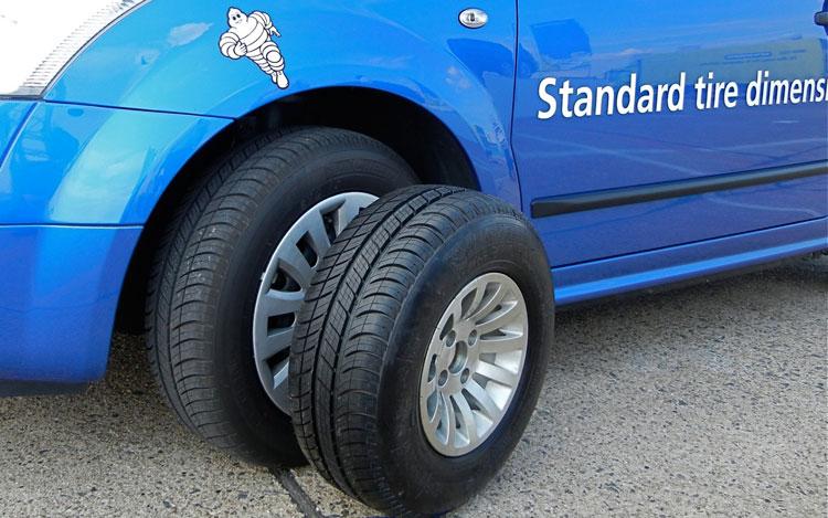 2011 Michelin Challenge Bibendum Berlin Smaller Tire