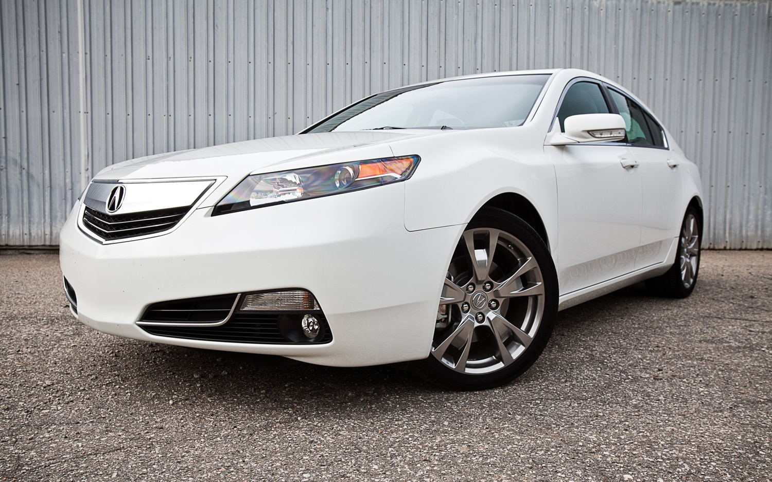 2012 Acura Tl Sh Awd Advance Front Left Side View1