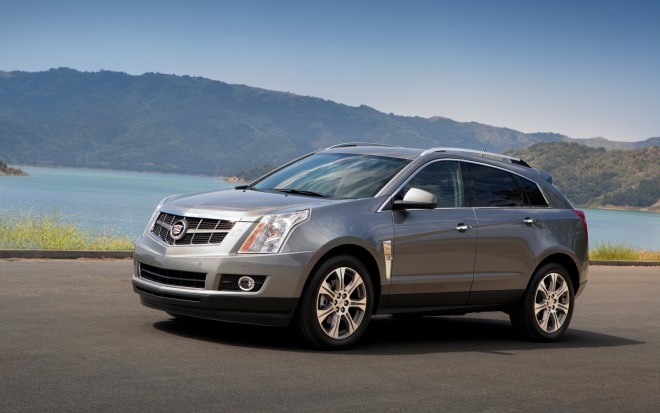 2012 Cadillac SRX Front Left Side View 2 660x413