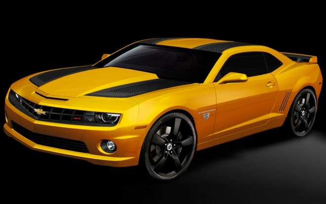 2012 Chevrolet Transformers Edition Camaro Front Three Quarter1 660x413