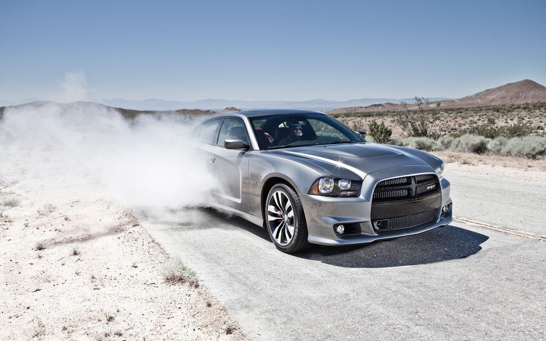 2012 Dodge Charger SRT8 Burnout1