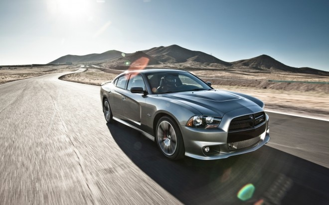 2012 Dodge Charger SRT8 Front Three Quarters1 660x413