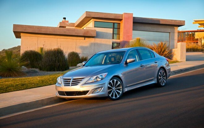 2012 Hyundai Genesis Front Three Quarters Static1 660x413