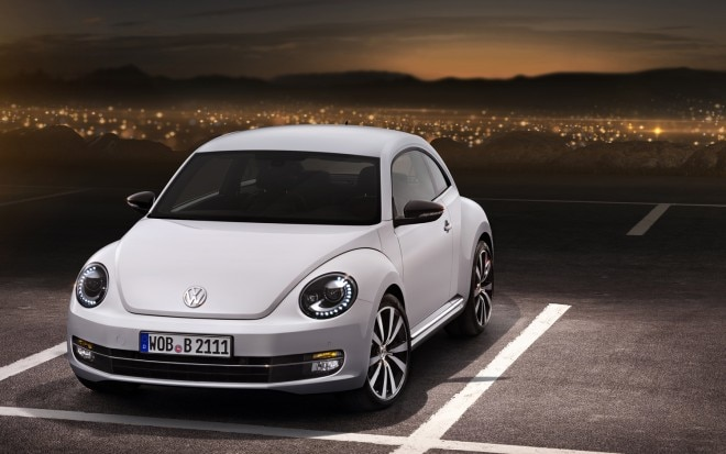 2012 Vw Beetle White Front Quarter1 660x413