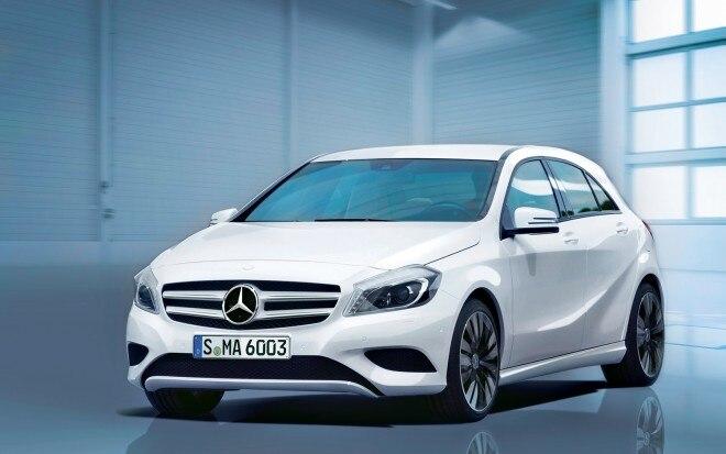 2014 Mercedes Benz A Class Front Left View1 660x413