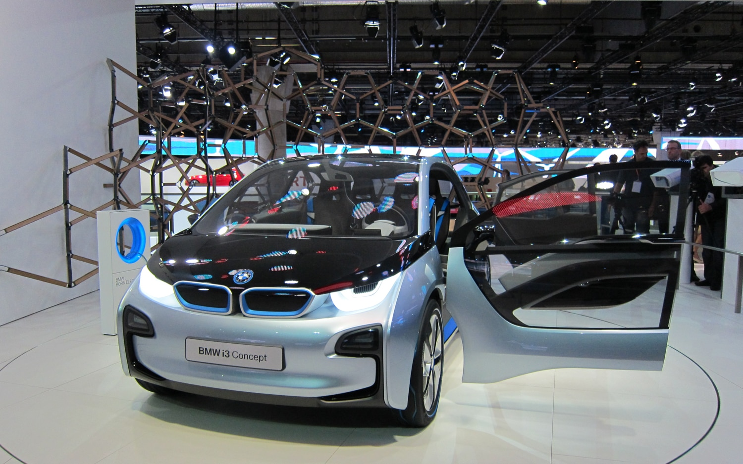 BMW I3 Concept Left Door Open1