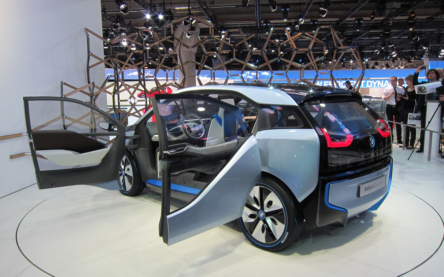 bmw i3 concept first look automobile magazine. Black Bedroom Furniture Sets. Home Design Ideas