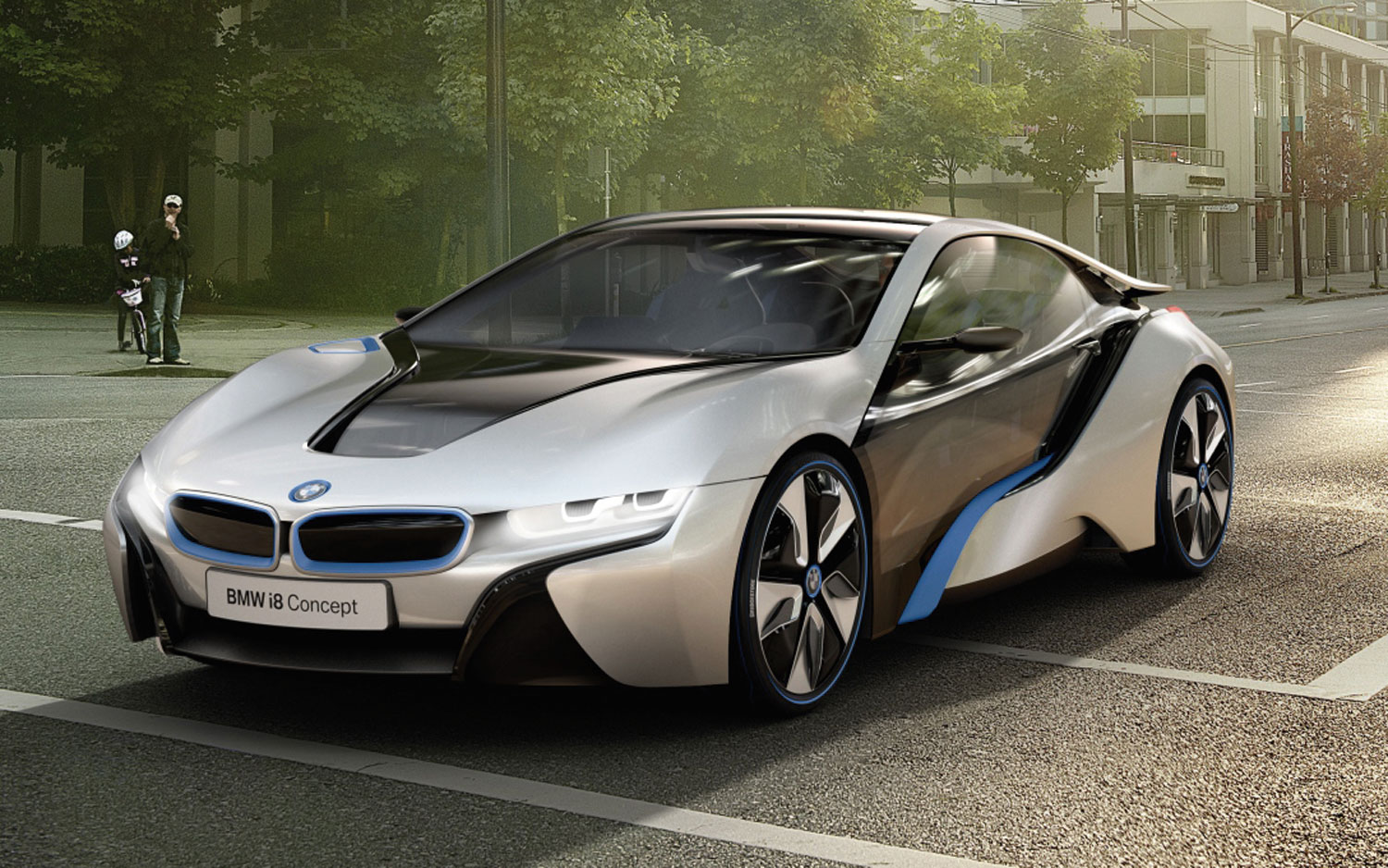 bmw i8 concept first look automobile magazine. Black Bedroom Furniture Sets. Home Design Ideas