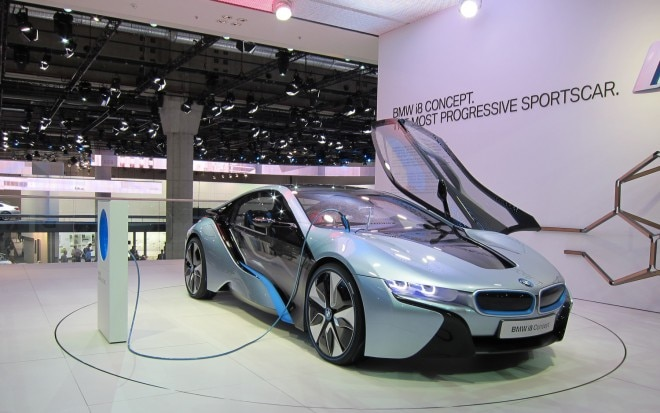 BMW I8 Concept Front Right View 2 660x413