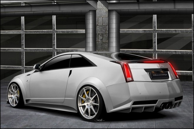 Hennessey Twin Turbo V1000 CTS V Coupe Rear1 660x440