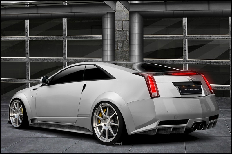 Hennessey Twin Turbo V1000 CTS V Coupe Rear1