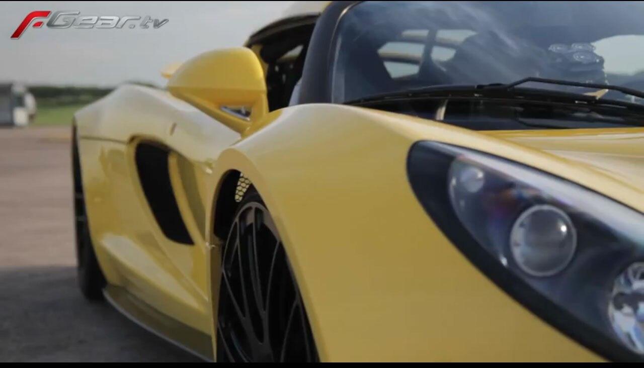 Hennessey Venom GT Right Side1