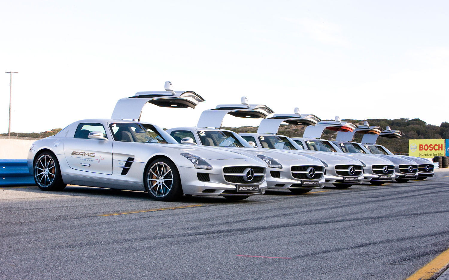 Feature flick amg performance driving school shares the for Mercedes benz academy