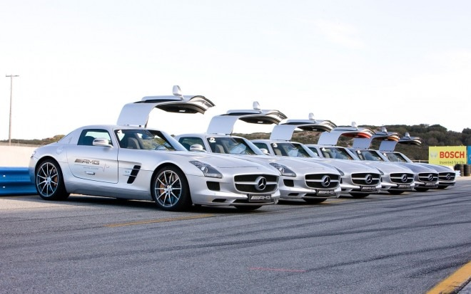 Mercedes Benz SLS AMG At Academy1 660x413