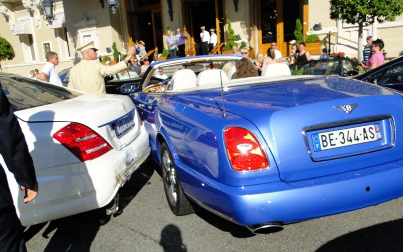 Monte Carlo Casino Square Exotic Car Crash 11