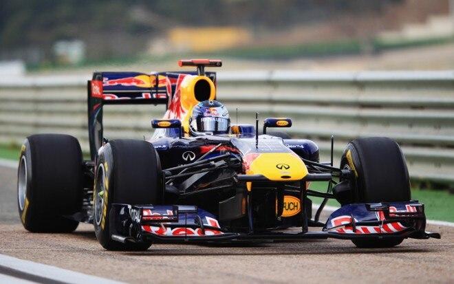 Red Bull Infiniti F1 Front Three Quarters1 660x413