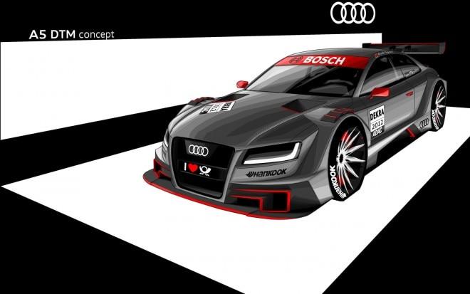 Audi A5 Dtm Concept Front Three Quarter1 660x413