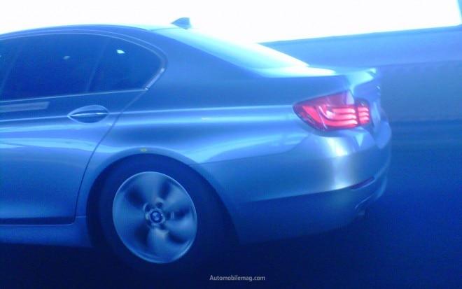 Bmw 5 Series Hybrid Profile Spy Photo1 660x413