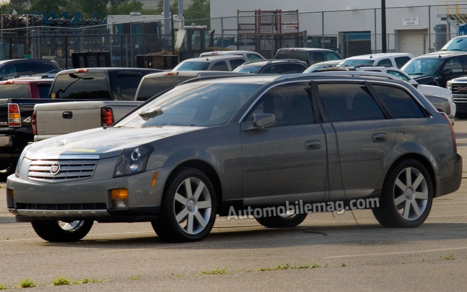 wagon v profile motor cadillac cts side motion first in drivers trend test cars
