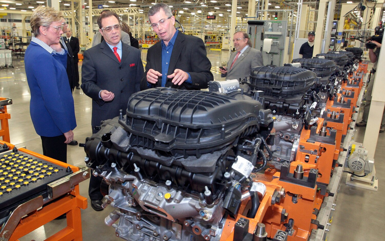 Chrysler Trenton Engine Plant Line1
