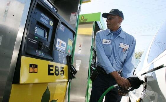 e85 gas station