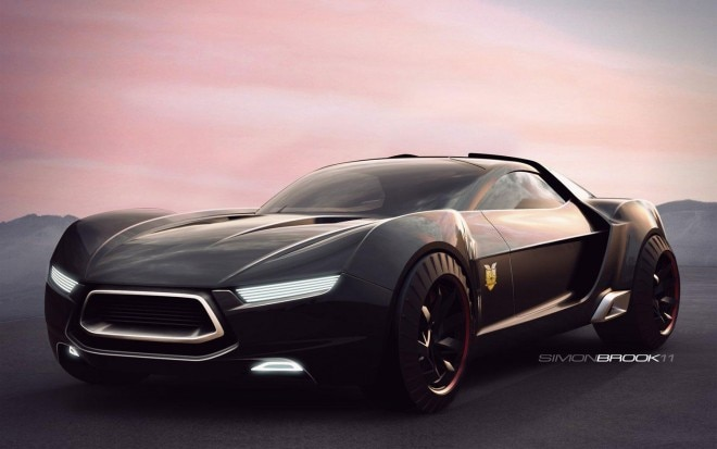Ford Mad Max Interceptor Concept Front Three Quarter1 660x413