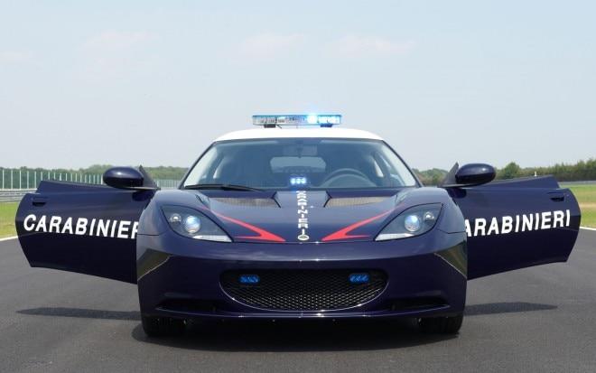Lotus Evora S Carabinieri Front1 660x413