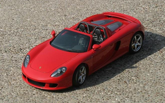 2006 Porsche Carrera GT Three Quarters Top View1 660x413