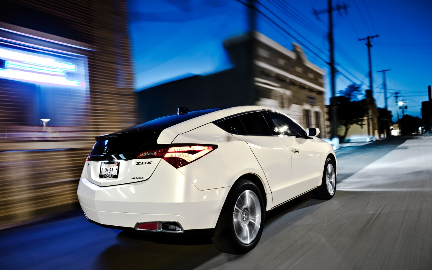 2010 Acura Zdx Rear Right View1