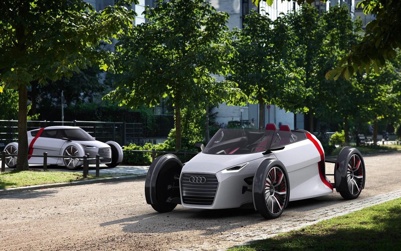 2011 Audi Urban Concept Sportback Spyder Parked 21