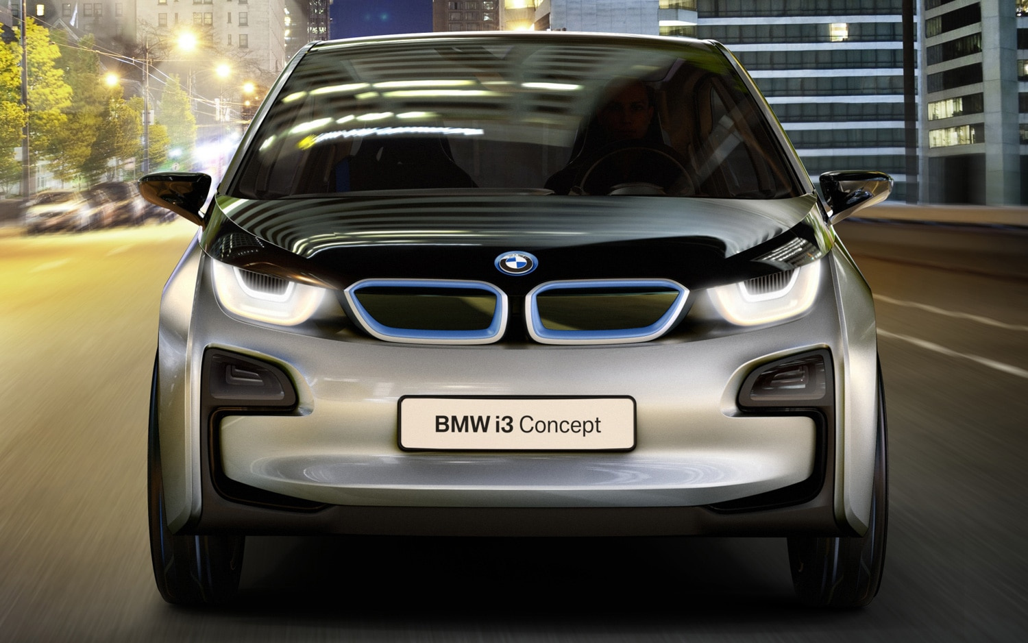 2011 BMW I3 Concept Front View1