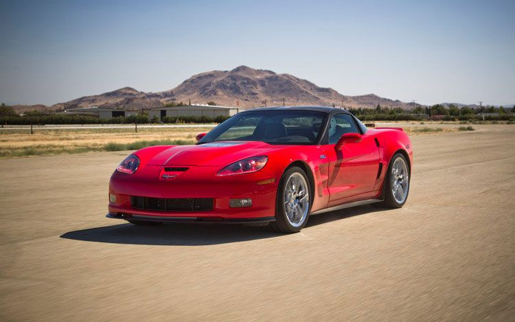 2011 Chevrolet Corvette ZR1 Front Three Quarters Driver1