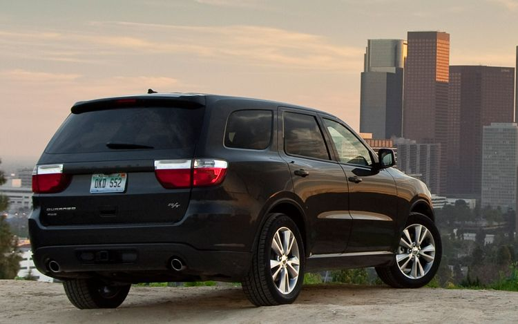 2011 Dodge Durango Rt Rear Three Quarters View1