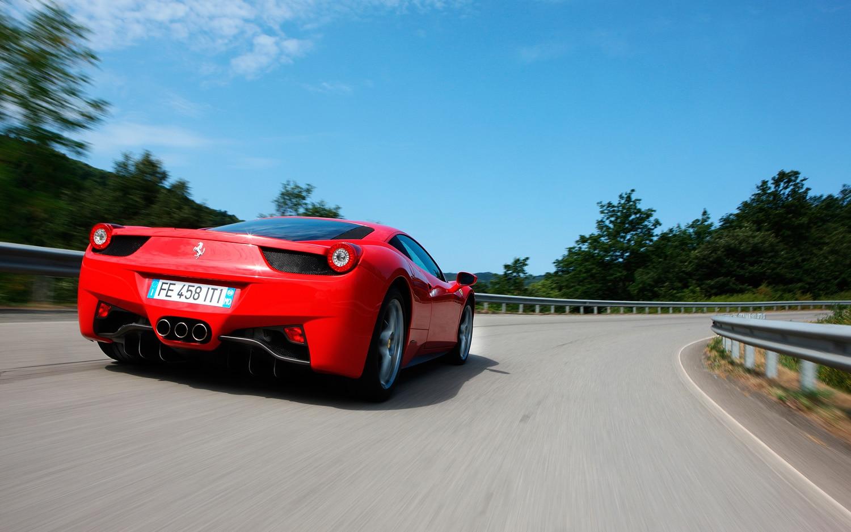 2011 Ferrari 458 Italia Track Driving1