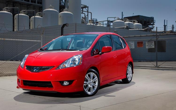 2011 Honda Fit Front Three Quarters