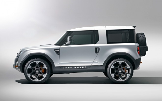 2011 Land Rover Defender DC100 Concept Side View 660x413