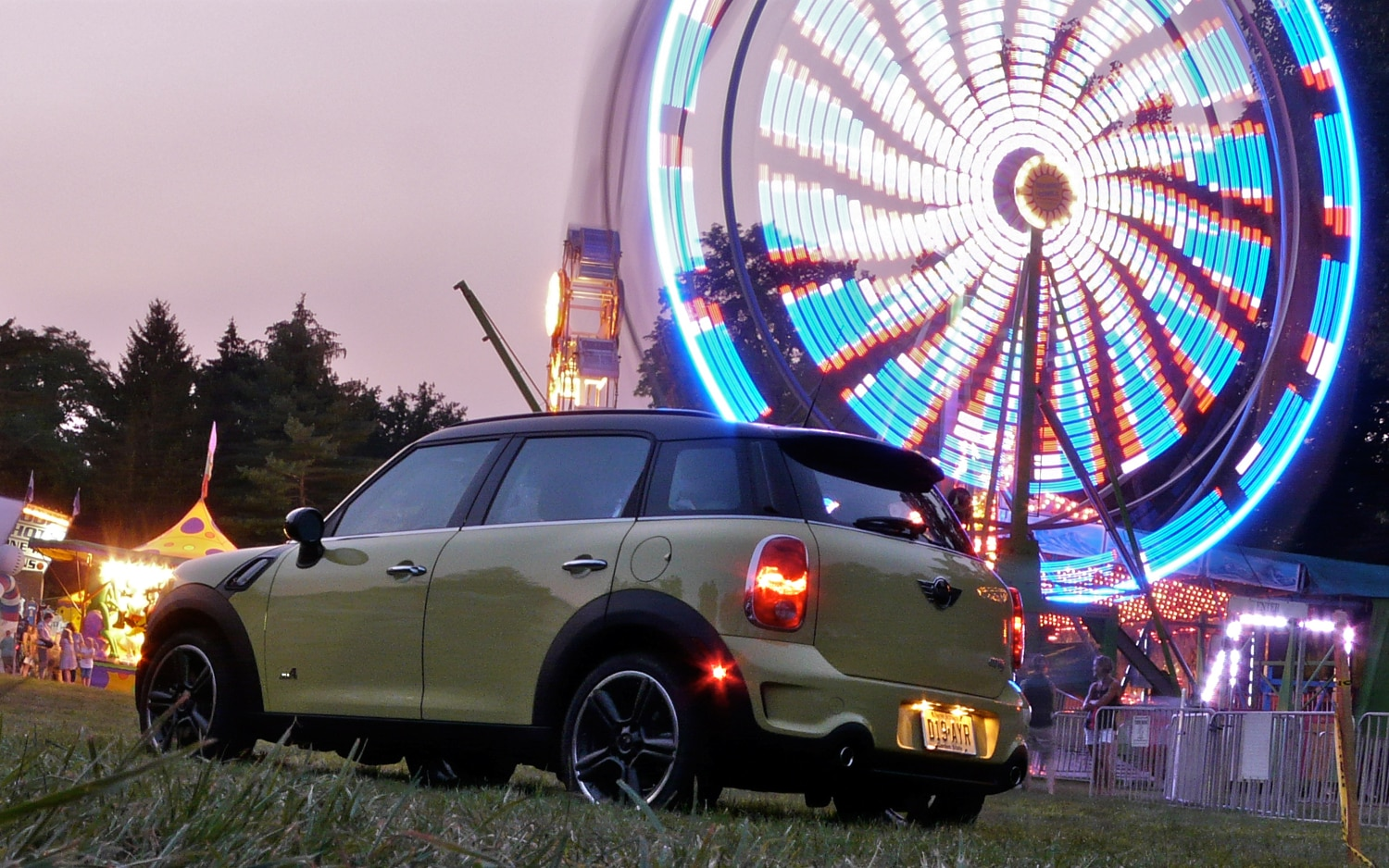 2011 MINI Cooper S Countryman ALL4 Rear Left Side View