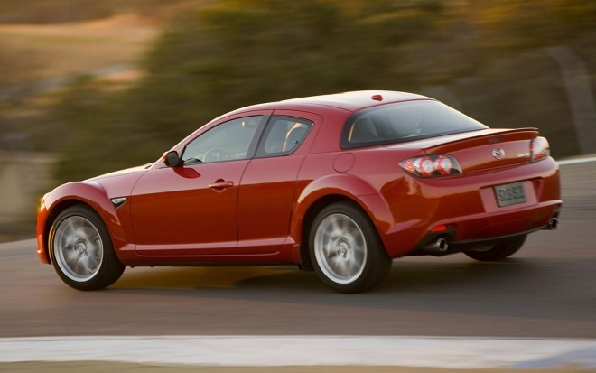2011 Mazda RX8 Rear Three Quarter1 660x413