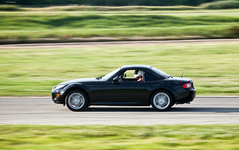 2011 Mazda MX 5 Miata Left Side View Track 42