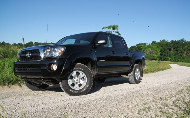 2011 Toyota Tacoma Double Cab Front Left Side View2 660x413