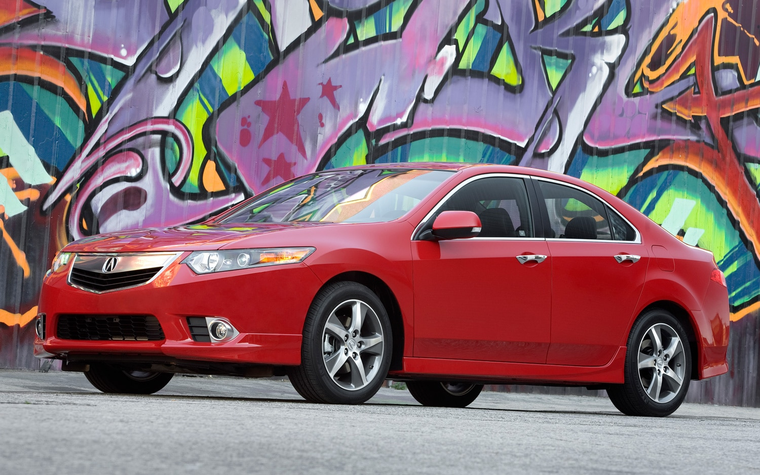 2012 Acura TSX Special Edition Front Three Quarters View1