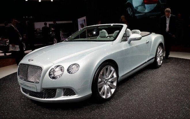 2012 Bentley Continental GTC Front Three Quarters1 660x413
