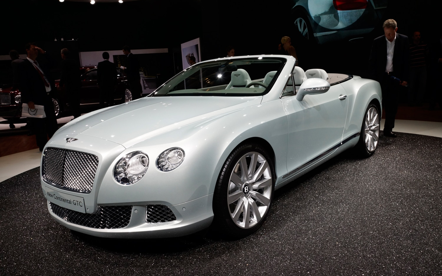 2012 Bentley Continental GTC Front Three Quarters1