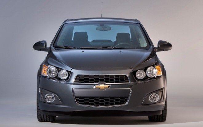2012 Chevrolet Sonic Sedan Front Profile1 660x413