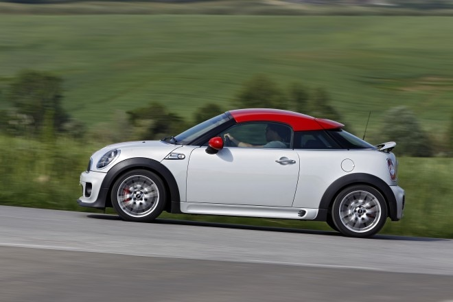 2012 Mini Coupe JCW Profile In Motion1 660x440