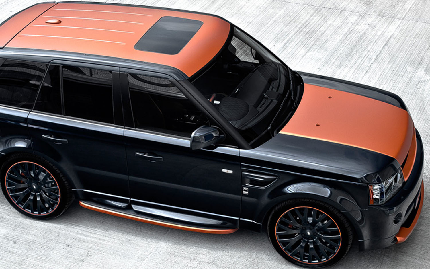 eruption project kahn crafts range rover sport vesuvius. Black Bedroom Furniture Sets. Home Design Ideas