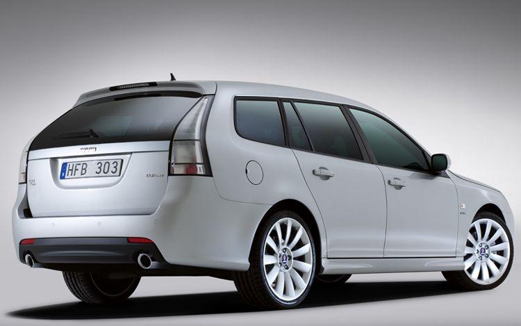 2012 Saab 9 3 Sportcombi Rear Three Quarter1