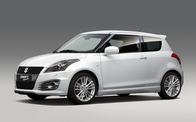 2012 Suzuki Swift Sport Front Three Quarter1 660x413
