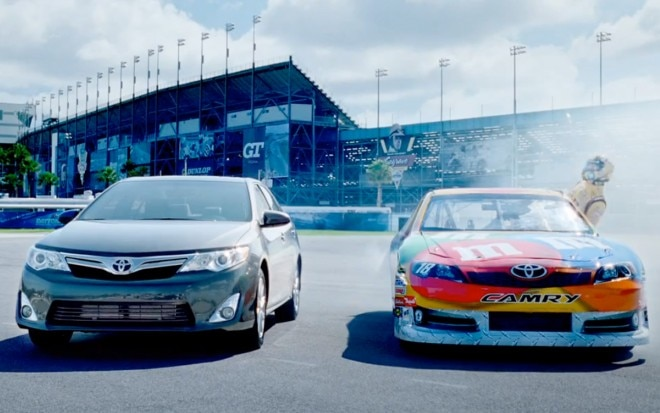 2012 Toyota Camry NASCAR Commercial 660x413