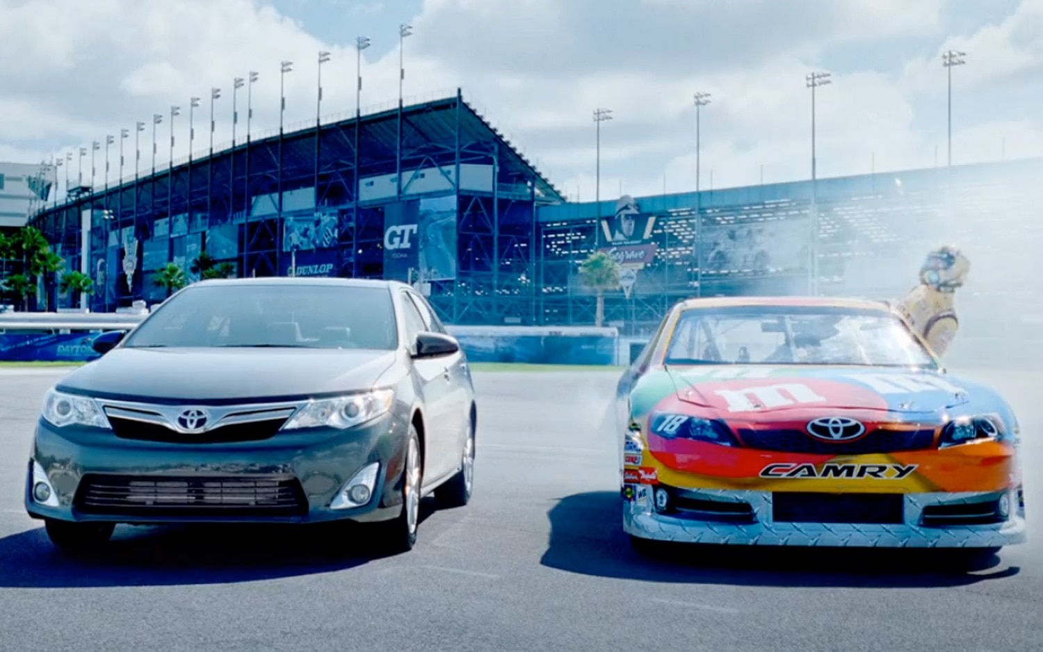 2012 Toyota Camry NASCAR Commercial